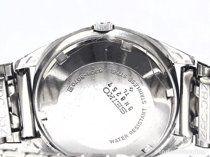 Relojes - Seiko: RELOJ SEIKO AUTOMÁTICO CALIBRE 6308 - Foto 10 - 244560495