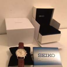 Relojes - Seiko: RELOJ SEIKO CHRONOGRAPH NUEVO A ESTRENAR. Lote 244699590