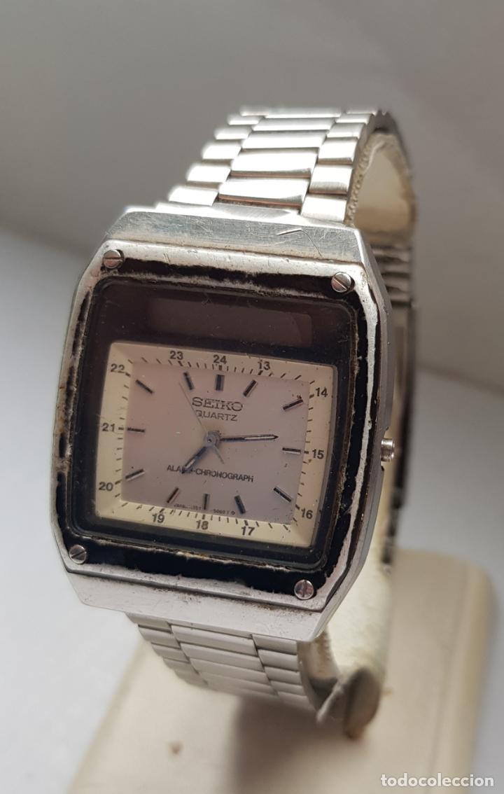 Relojes - Seiko: RARO SEIKO H357 5040 JAMES BOND PROYECTO RESTAURACION - Foto 2 - 245241560