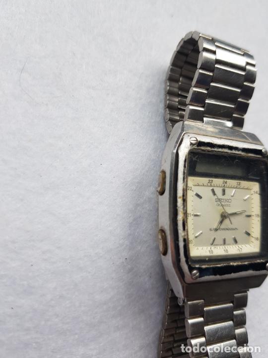 Relojes - Seiko: RARO SEIKO H357 5040 JAMES BOND PROYECTO RESTAURACION - Foto 5 - 245241560