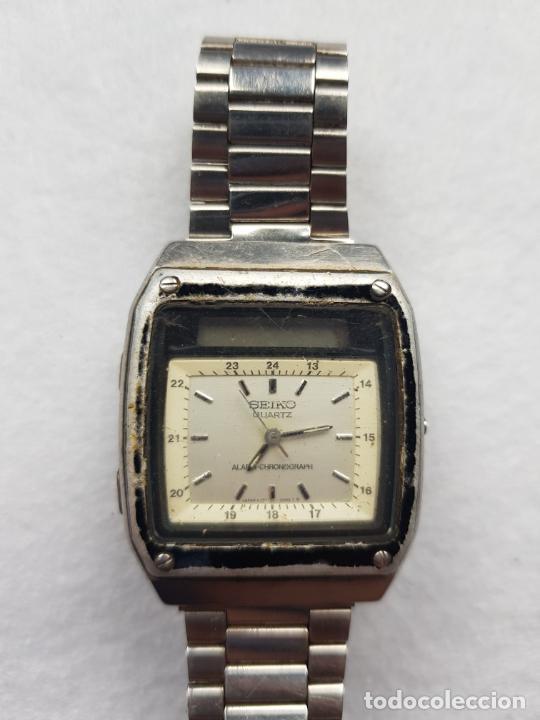 Relojes - Seiko: RARO SEIKO H357 5040 JAMES BOND PROYECTO RESTAURACION - Foto 7 - 245241560