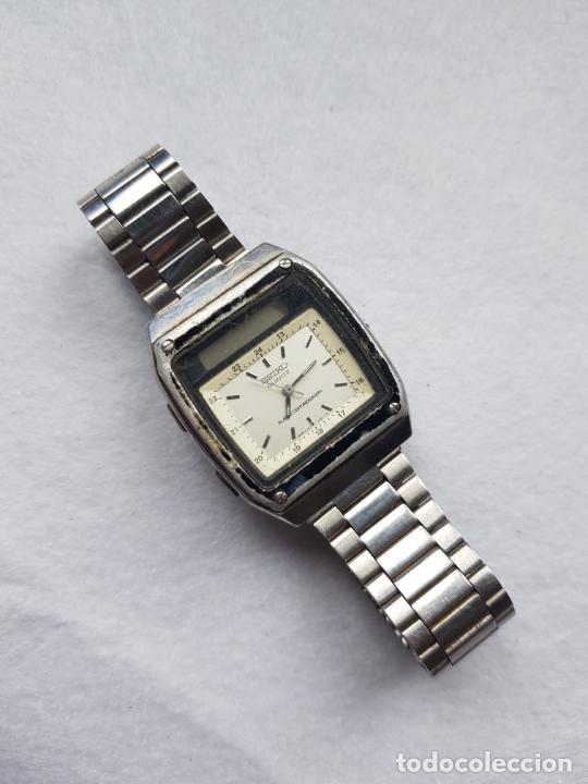 Relojes - Seiko: RARO SEIKO H357 5040 JAMES BOND PROYECTO RESTAURACION - Foto 9 - 245241560