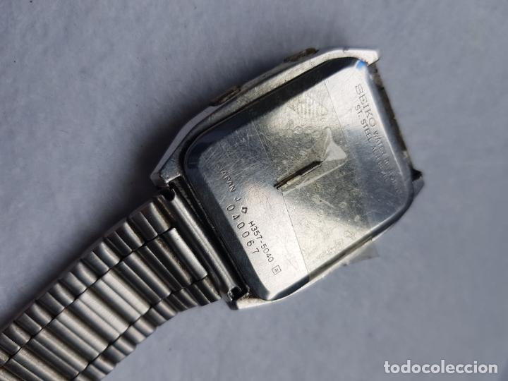 Relojes - Seiko: RARO SEIKO H357 5040 JAMES BOND PROYECTO RESTAURACION - Foto 11 - 245241560