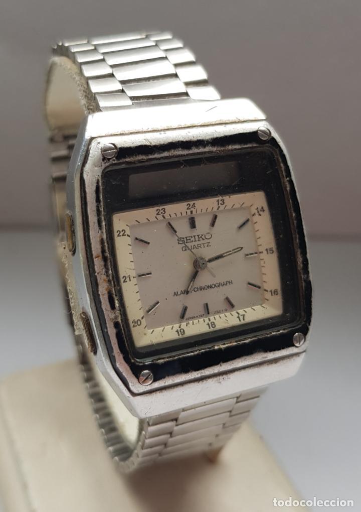 RARO SEIKO H357 5040 JAMES BOND PROYECTO RESTAURACION (Relojes - Relojes Actuales - Seiko)