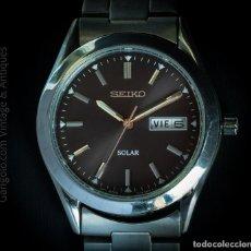Relojes - Seiko: RELOJ SEIKO SNE039P1 SOLAR UNISEX. Lote 245939985