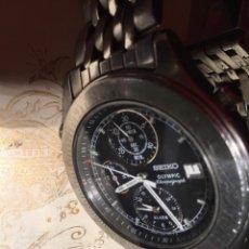 Relógios - Seiko: RELOJ SEIKO OLYMPIC CHRONOGRAFO REF 7T42-7A50 VINTAGE JAPAN. Lote 246037200