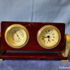 Relojes - Seiko: RELOJ Y TERMOMETRO SEIKO DE SOBREMESA. Lote 249376125