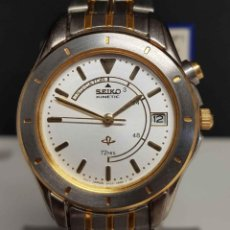 Relojes - Seiko: RELOJ SEIKO KINETIC 72HRS. - 3M22-0A90, VINTAGE, NOS (NEW OLD STOCK). Lote 251039815