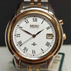Relojes - Seiko: RELOJ SEIKO KINETIC - 3M22-0A50, VINTAGE, NOS (NEW OLD STOCK). Lote 251041860