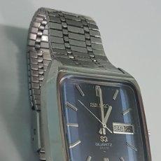 Relojes - Seiko: RELOJ SEIKO QUARZ 3003 DOBLE CALENDARIO AÑOS 70 FUNCIONANDO. Lote 251500595