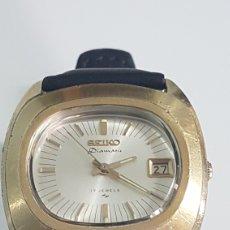 Relógios - Seiko: SEIKO DIAMATIC 17 RUBIS CHAPADO ORO AÑOS 70. Lote 251504620