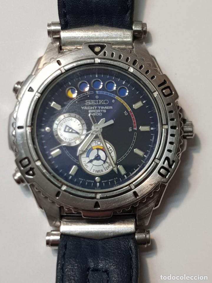 RELOJ SEIKO YACHT TIMER SPORTS 200 MUY BUEN ESTADO (Relojes - Relojes Actuales - Seiko)