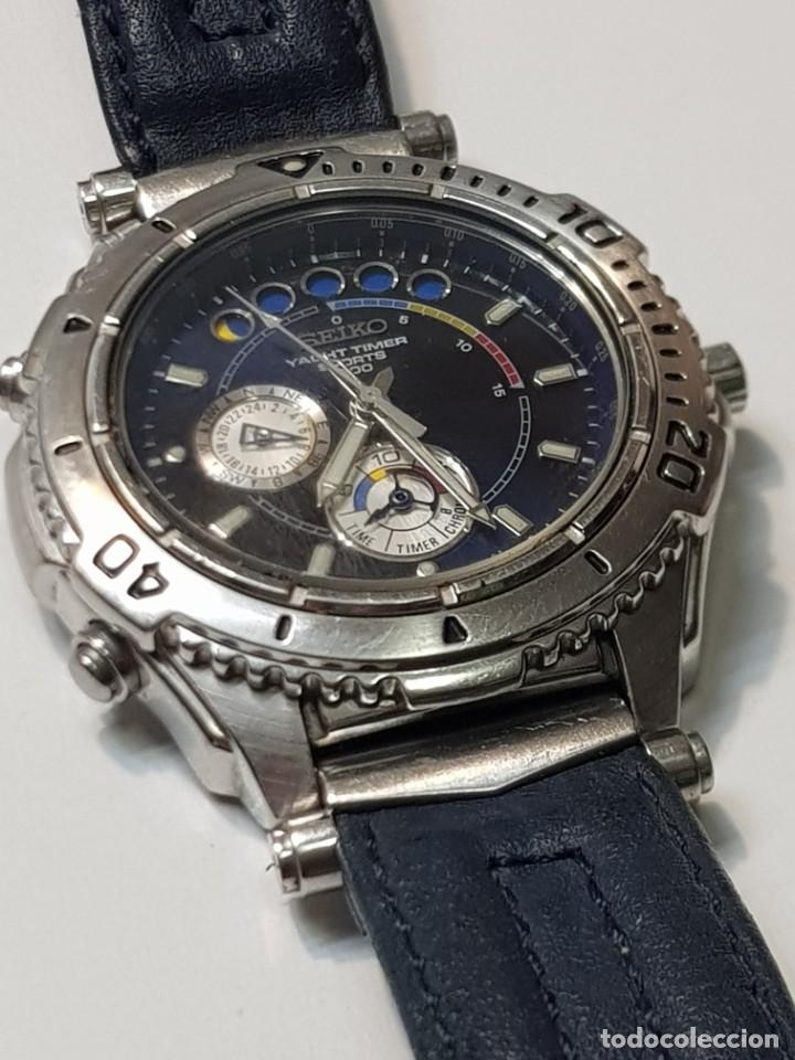 Relojes - Seiko: Reloj Seiko YACHT TIMER SPORTS 200 Muy buen estado - Foto 2 - 252365140