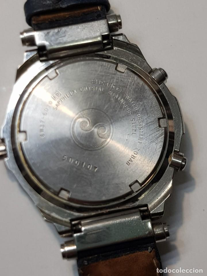 Relojes - Seiko: Reloj Seiko YACHT TIMER SPORTS 200 Muy buen estado - Foto 3 - 252365140