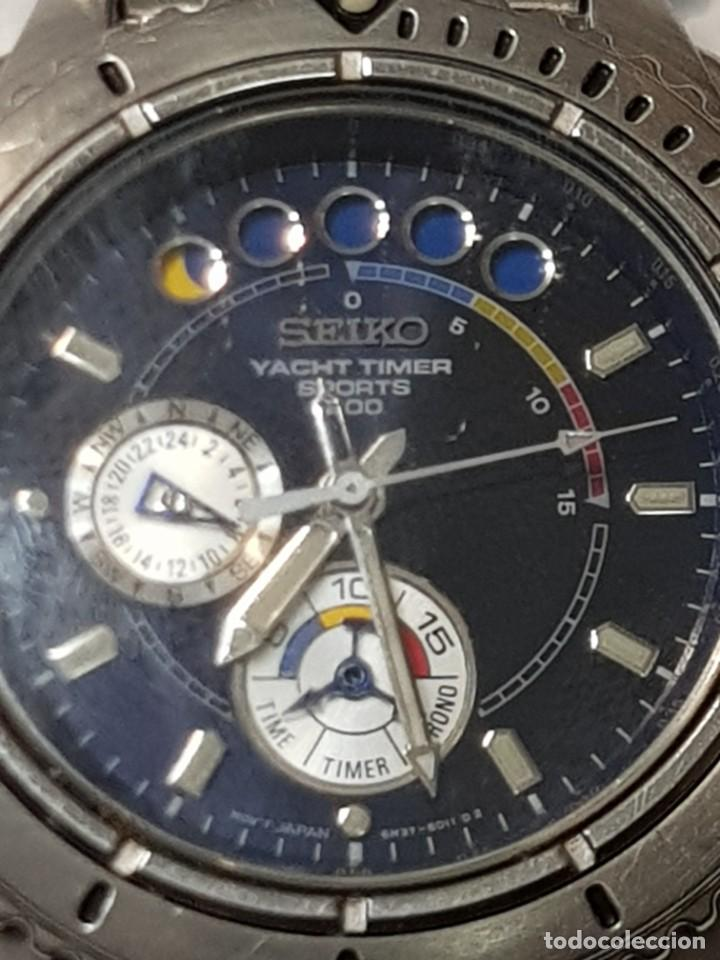 Relojes - Seiko: Reloj Seiko YACHT TIMER SPORTS 200 Muy buen estado - Foto 6 - 252365140