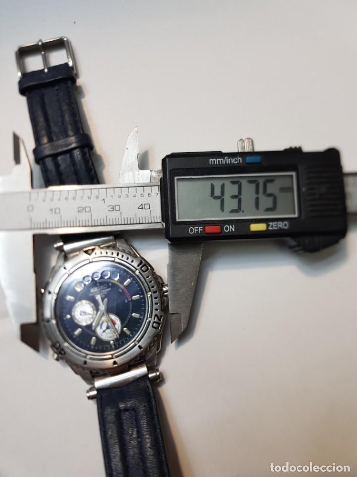 Relojes - Seiko: Reloj Seiko YACHT TIMER SPORTS 200 Muy buen estado - Foto 7 - 252365140
