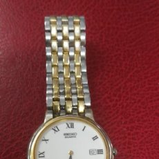 Relojes - Seiko: RELOJ SEGUNDA MANO MARCA SEIKO CON CALENDARIO REF 151758. Lote 252935585