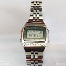 Relógios - Seiko: RELOJ DIGITAL - SEIKO -SPORTS 100-PULSERA ACERO COMO NUEVO FUNCIONANDO,CON ALARMA ,LUZ Y CRONOMETRO. Lote 253943885
