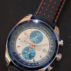 Relojes - Seiko: SEIKO PANDA CHRONOGRAPH AUTOMÁTICO REEDICIÓN 1977. Lote 254021605