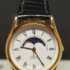 Relojes - Seiko: RELOJ SEIKO 2A24-0040- FASES DE LUNA - VINTAGE, NOS (NEW OLD STOCK). Lote 254950550
