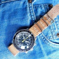 Relojes - Seiko: SEIKO FLIGHTMASTER SNA411P1 7T62-0EB0. Lote 255496970