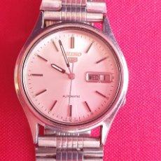 Relógios - Seiko: RELOJ SEIKO 5 AUTOMATICO FUNCIONA.MIDE 35.4 MM DIAMETRO. Lote 256160685