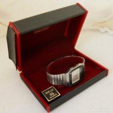 Relojes - Seiko: RARO SEIKO H357 5040 JAMES BOND PROYECTO RESTAURACION CON BRAZALETE Y CAJA ORIGINAL. Lote 257477890