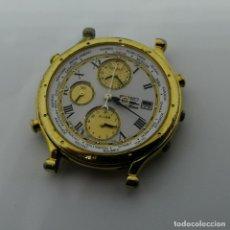 Relojes - Seiko: RELOJ SEIKO 5T52-7A18 VINTAGE AGE OF DISCOVERY WORLD TIMER. Lote 257620620