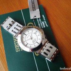 Relojes - Seiko: RELOJ SEIKO 5M42-0G90 KINETIC SAPPHLEX CRYSTAL NUEVO!!!!. Lote 257622205