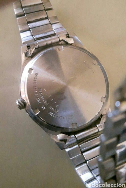 Relojes - Seiko: Reloj analógico Seiko acero inoxidable vintage - Foto 2 - 260108710