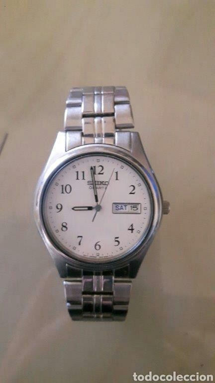 Relojes - Seiko: Reloj analógico Seiko acero inoxidable vintage - Foto 3 - 260108710