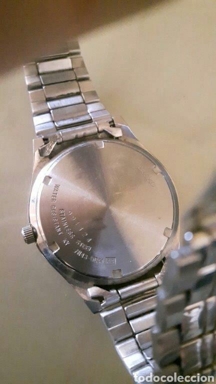 Relojes - Seiko: Reloj analógico Seiko acero inoxidable vintage - Foto 4 - 260108710