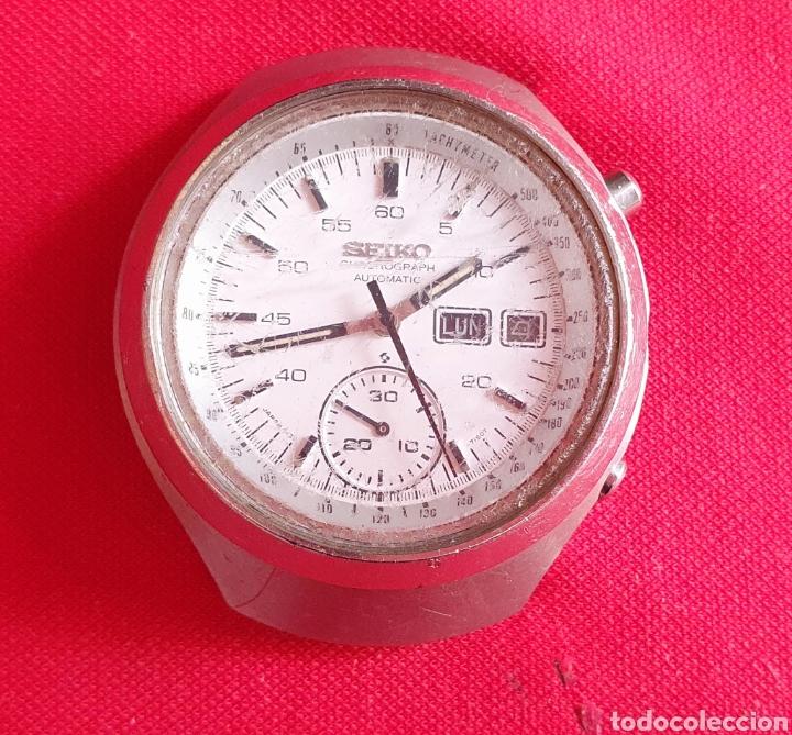 RELOJ SEIKO CHRONOGRAPH AUTOMATIC FUNCIONA. MIDE 40.4 MM DIAMETRO (Relojes - Relojes Actuales - Seiko)
