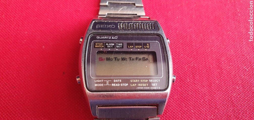 RELOJ SEIKO CUARZO LC NO FUNCIONA .MIDE 33.4 MM DIAMETRO (Relojes - Relojes Actuales - Seiko)