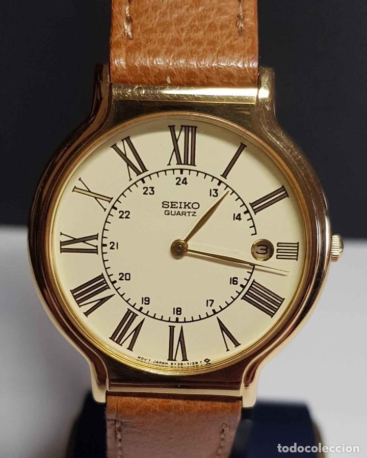 RELOJ SEIKO 5Y39-7060 - VINTAGE, NOS (NEW OLD STOCK) (Relojes - Relojes Actuales - Seiko)