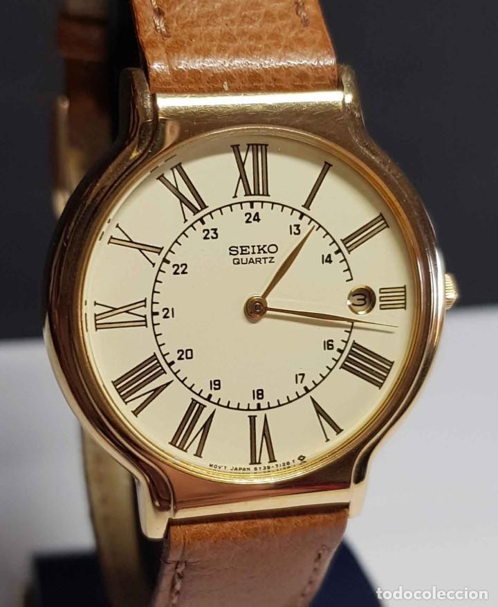 Relojes - Seiko: Reloj SEIKO 5Y39-7060 - vintage, NOS (New Old Stock) - Foto 2 - 261250480