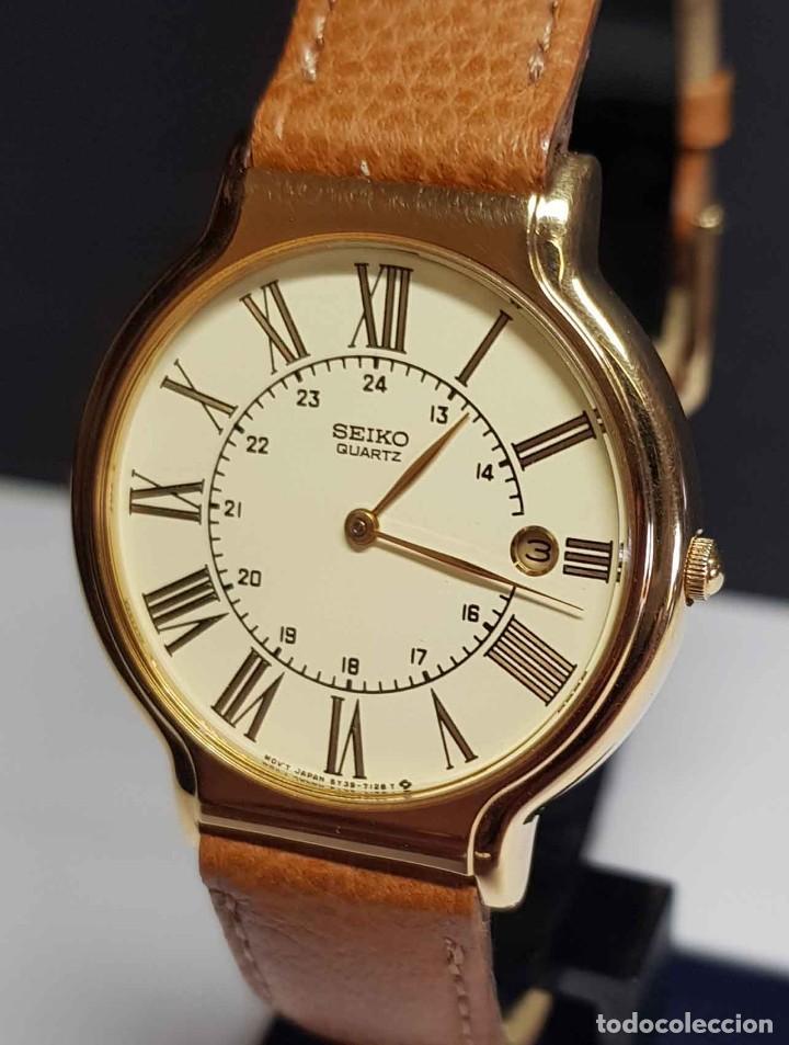 Relojes - Seiko: Reloj SEIKO 5Y39-7060 - vintage, NOS (New Old Stock) - Foto 3 - 261250480