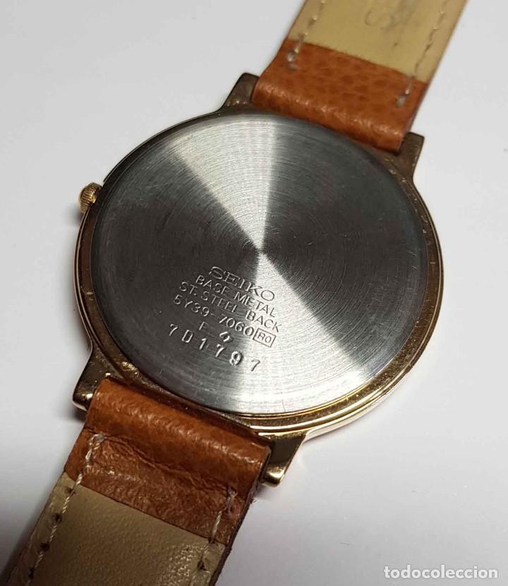 Relojes - Seiko: Reloj SEIKO 5Y39-7060 - vintage, NOS (New Old Stock) - Foto 8 - 261250480