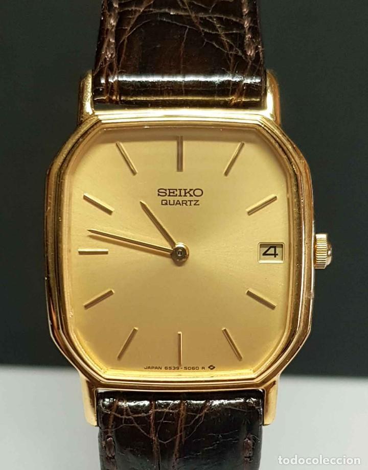 RELOJ SEIKO 6539-5040 - VINTAGE, NOS (NEW OLD STOCK) (Relojes - Relojes Actuales - Seiko)