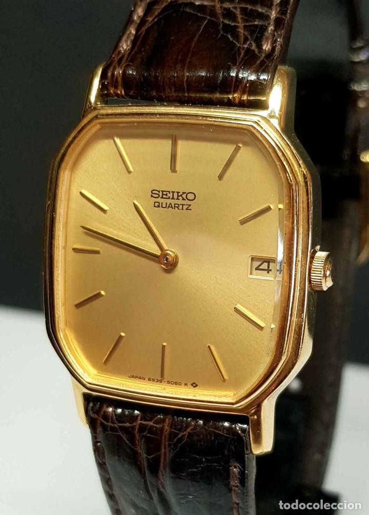Relojes - Seiko: Reloj SEIKO 6539-5040 - vintage, NOS (New Old Stock) - Foto 2 - 261253100
