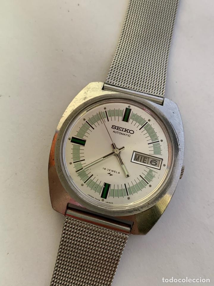RELOJ COLECCIÓN VINTAGE SEIKO 7006-8060 AUTOMATIC DAY DATE 19JEWELS JAPAN (Relojes - Relojes Actuales - Seiko)