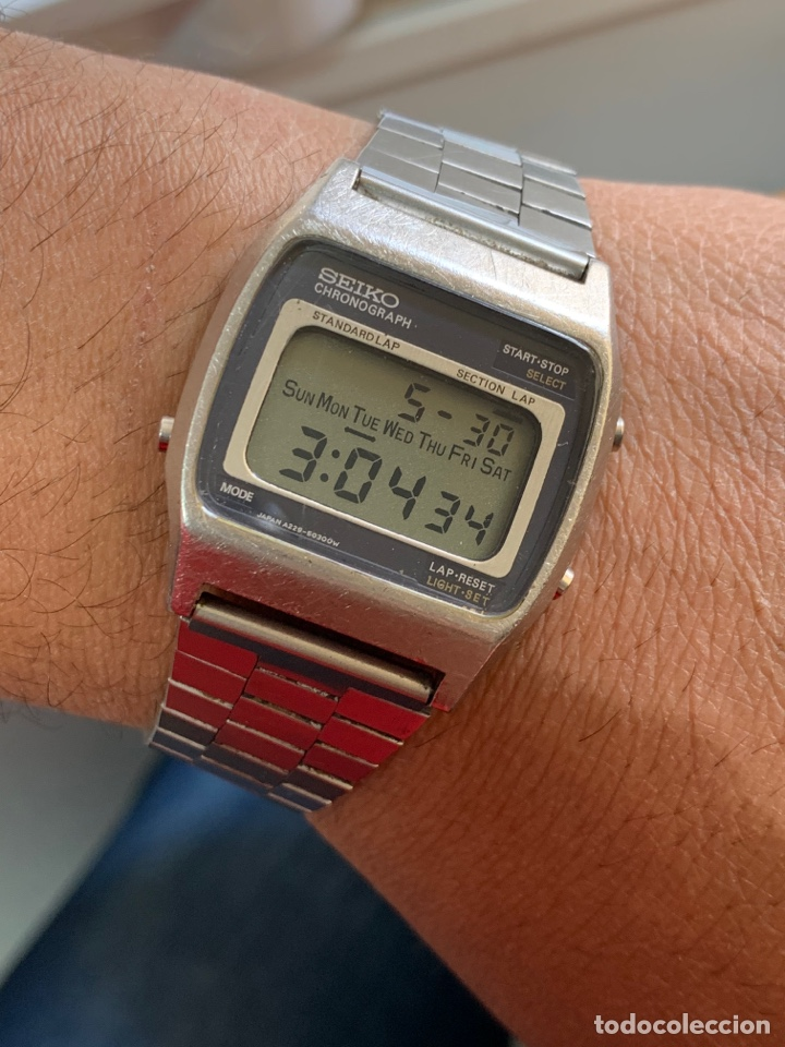 RELOJ COLECCIÓN VINTAGE SEIKO A229-5010 LCD JAPAN (Relojes - Relojes Actuales - Seiko)