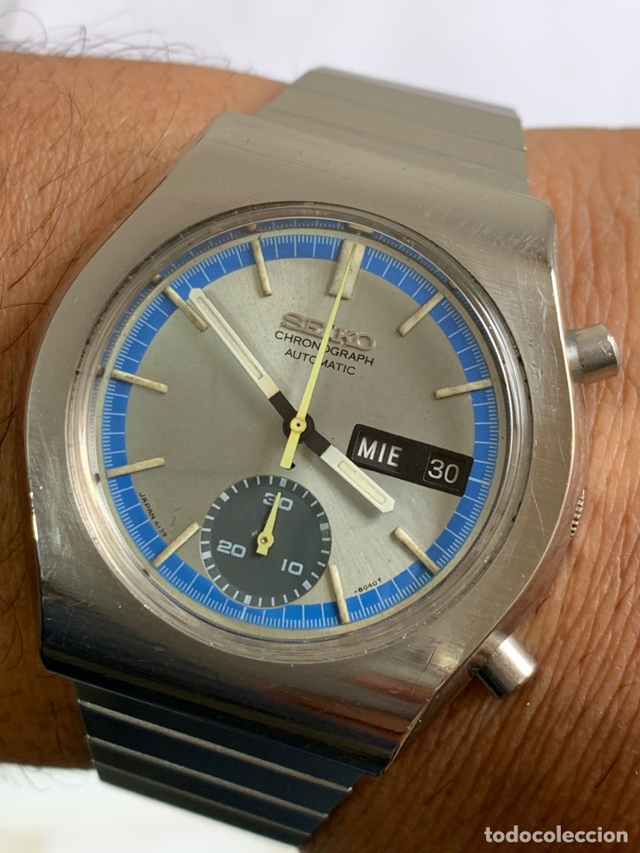RELOJ COLECCIÓN VINTAGE SEIKO 6139-8020 CHRONOGRAPH AUTOMÁTICO DAY DATE JAPAN (Relojes - Relojes Actuales - Seiko)