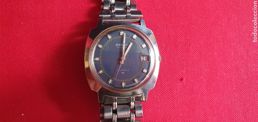 RELOJ SEIKO AUTOMATICO 21 JEWELS FUNCIONA .MIDE 35.2MM DIAMETRO (Relojes - Relojes Actuales - Seiko)
