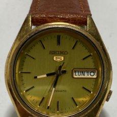 Relojes - Seiko: RELOJ SEIKO AUTOMÁTICO N5 MODELO 7S26-0560 CAJA CHAPADA EN FUNCIONAMIENTO. Lote 262379050