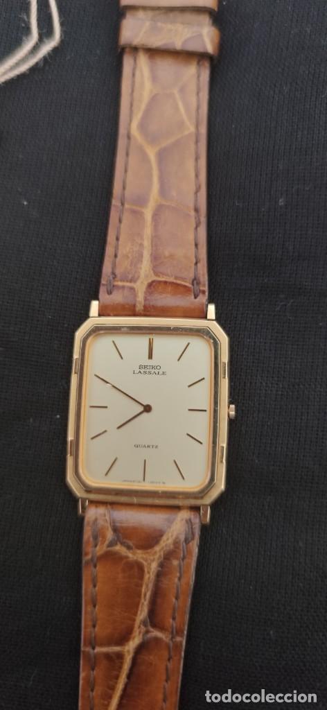 Relojes - Seiko: SEIKO LASSALE, VINTAGE-1.991 APROXIM.(NOS=NEW OLD STOCK) - Foto 2 - 262385025