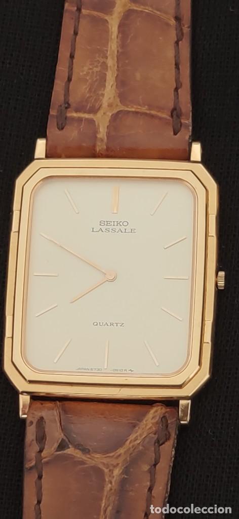 Relojes - Seiko: SEIKO LASSALE, VINTAGE-1.991 APROXIM.(NOS=NEW OLD STOCK) - Foto 5 - 262385025