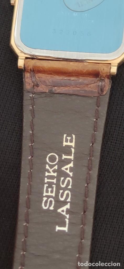 Relojes - Seiko: SEIKO LASSALE, VINTAGE-1.991 APROXIM.(NOS=NEW OLD STOCK) - Foto 11 - 262385025