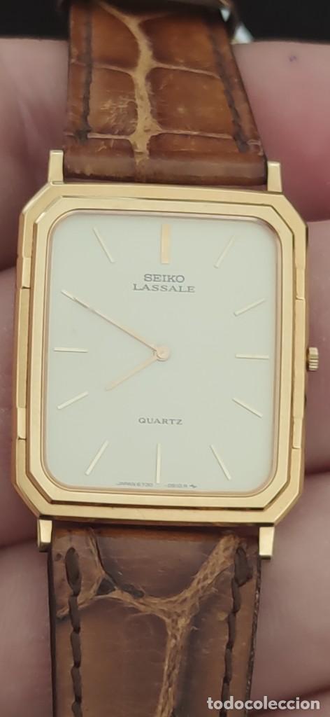 Relojes - Seiko: SEIKO LASSALE, VINTAGE-1.991 APROXIM.(NOS=NEW OLD STOCK) - Foto 13 - 262385025