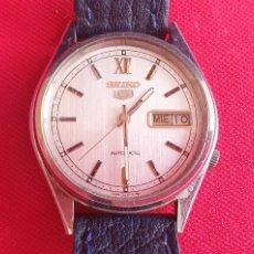 Relógios - Seiko: RELOJ SEIKO 5 AUTOMATICO FUNCIONA .MIDE 34.4 MM DIAMETRO. Lote 262394520